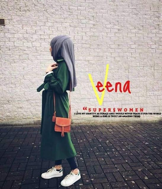 girl in abaya