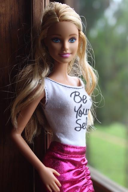 Cute Barbie.