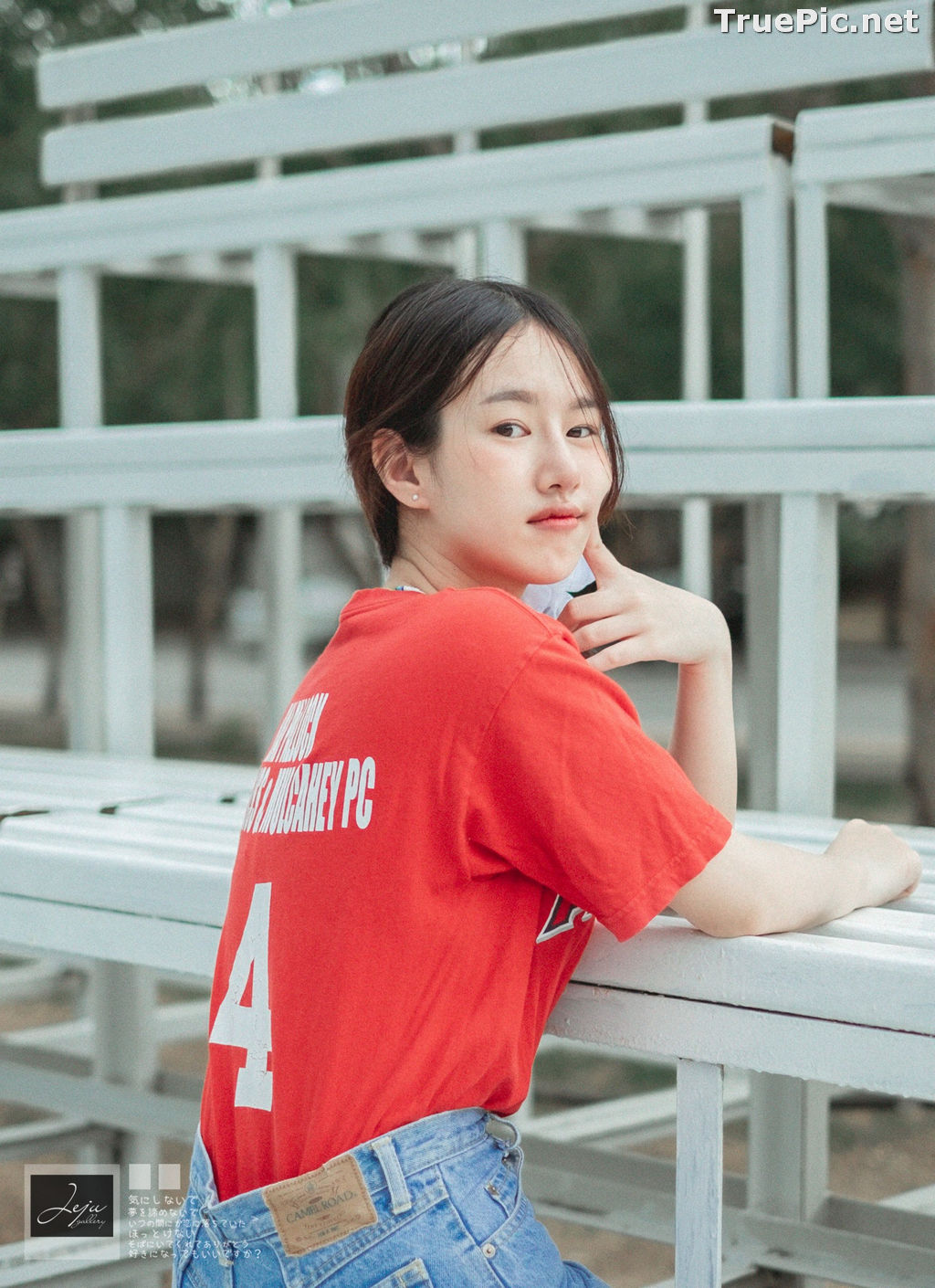 Image Thailand Cute Model - Fahfab Thunchanok - Red Angels - TruePic.net - Picture-7