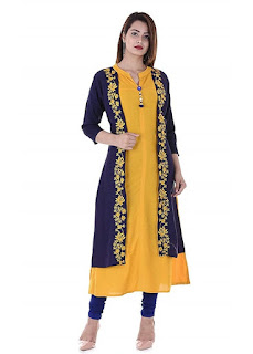 Embroidered Kurti Combo of 2