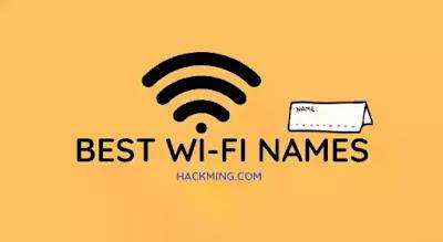 Best WiFi names