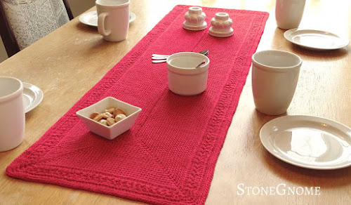 Set the table with a table runner
