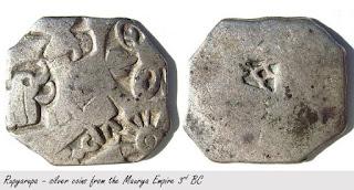 Rupya rupa coins from Maurya