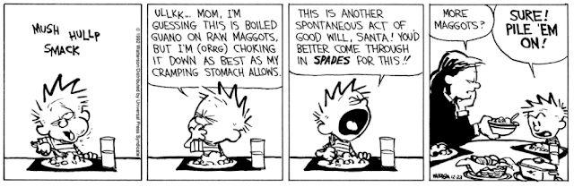 His expression in the final panel is utterly unreadable.