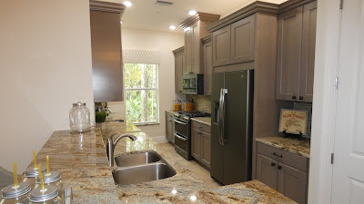 Hidden Creek model home kitchen 1