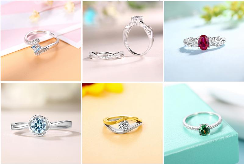 najładniejsze srebrne pierścionki