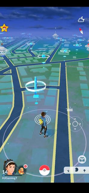 PG Sharp Pokemon Go app Spoofing Proof Screenshots