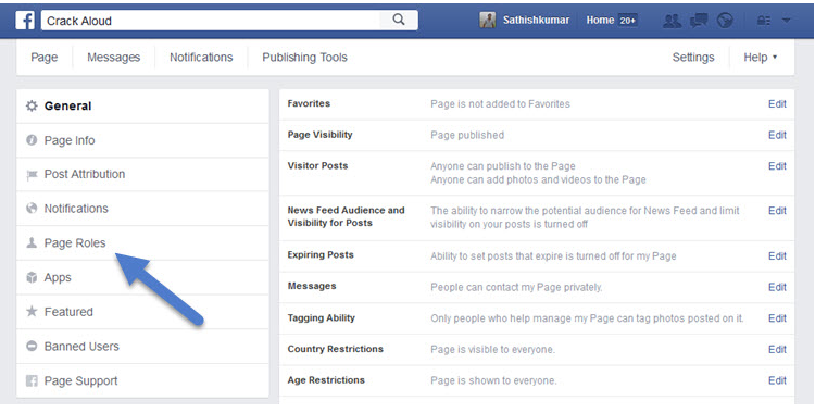 How To Make Someone An Admin On Facebook Page ~ Facebook ...