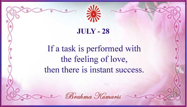 Thought For The Day July 28