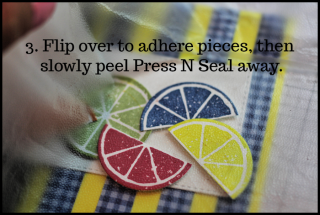 Use Press N Seal to maintain perfect placement of project elements