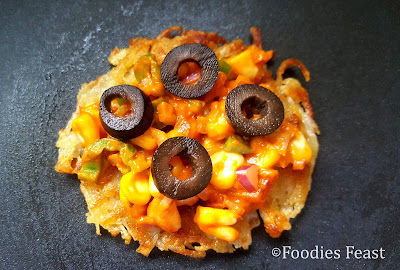 Hash Brown Mini Pizza Recipe