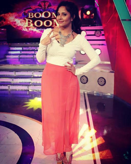 Anchor Anasuya in Boom Boom Show Pics