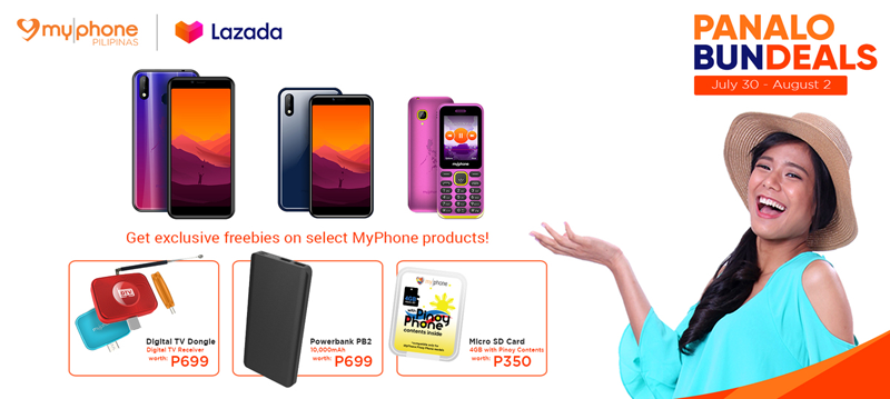 MyPhone devices are now available again in Lazada starting today!