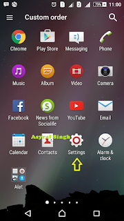 setting - game tersembunyi android 5.0 lollipop