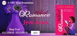 Schedule: #JustRomance by Jyoti Arora