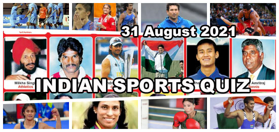 National Sports Day - Online Quiz Competition on Indian Sports for Students