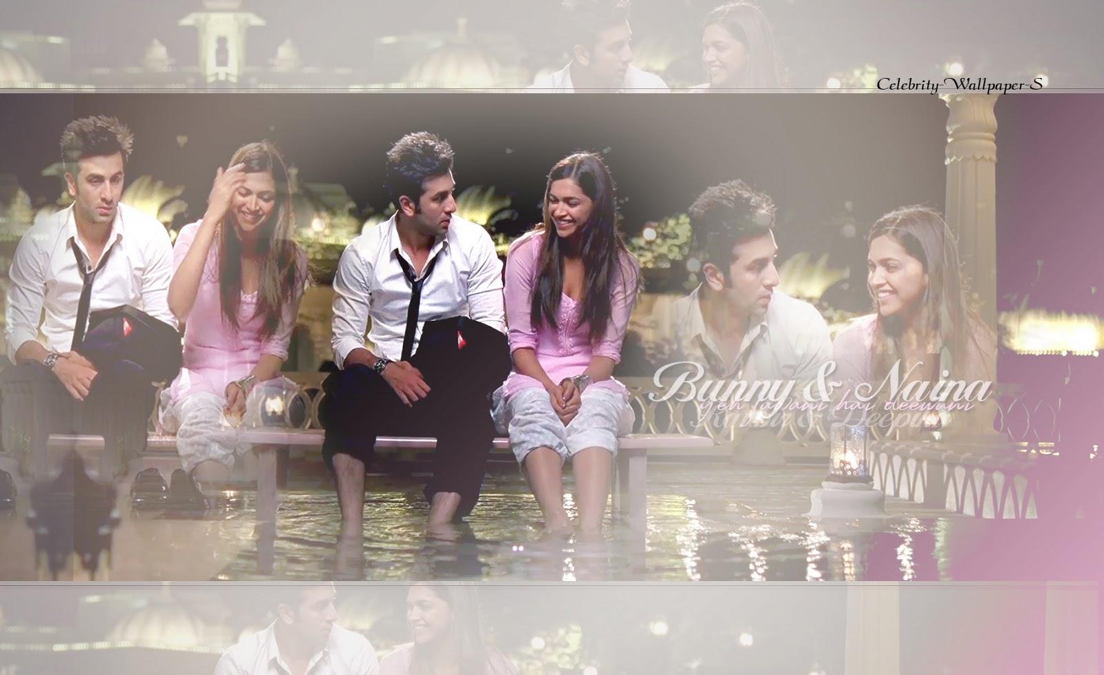 Ranbir And Deepika In Yeh Jawani Hai Deewani Wallpaper ...