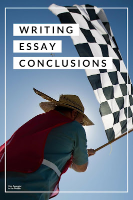 Use this plan to help your middle school students write a great conclusion paragraph for their essays!