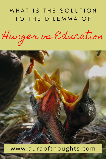 School Education and meals - AuraOfThoughts