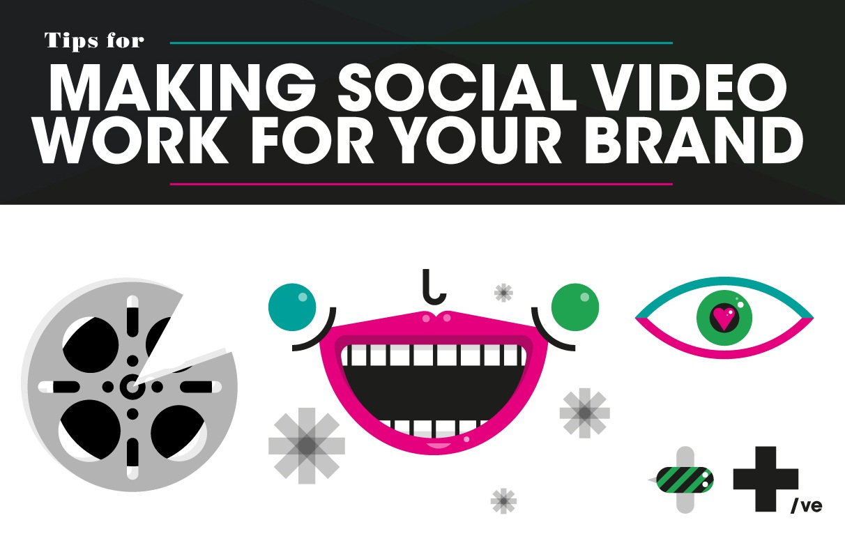Making Social Video Work for Your Brand - #infographic