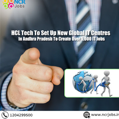 HCL Tech To Set Up New Global IT Centres In Andhra Pradesh To Create Over 5,000 IT Jobs