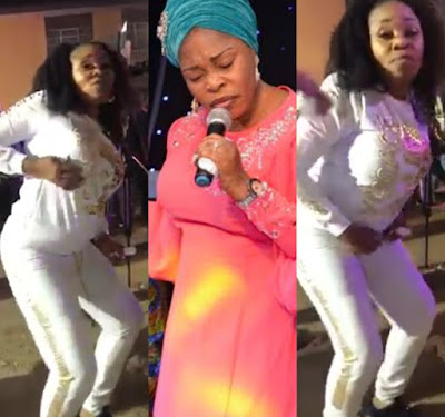 """""""And you call yourself a gospel singer""""- Nigerians reacts to video of Tope Alabi dancing like a PROSTITUTE"""