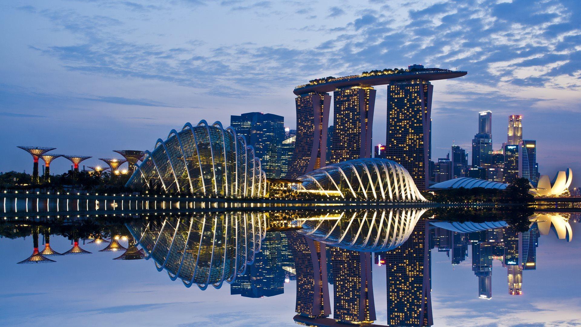 Район Марина-Бей в Сингапуре