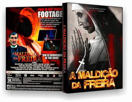 DVD – A Maldição da Freira – AUTORADO