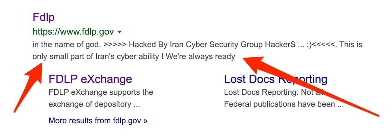 Iran hack donald trump.