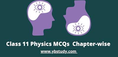 Class 11 physics MCQs