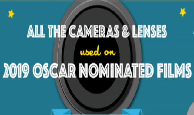 The Oscar-Nominated Filmmakers' Favourite Cameras and Lens #Infographic