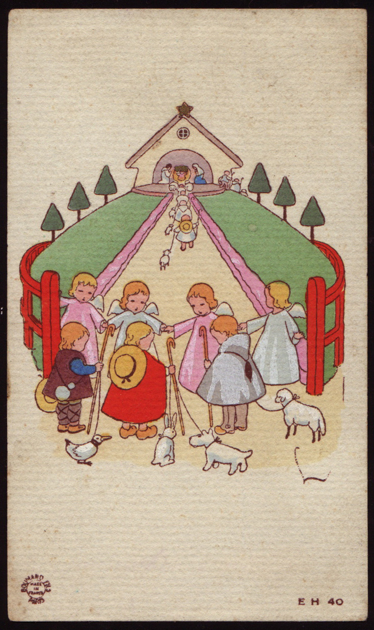 Holy Cards For Children Nativity