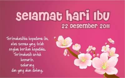 KataKata Mutiara Ucapan Selamat Hari Ibu Terbaru 22 Desember