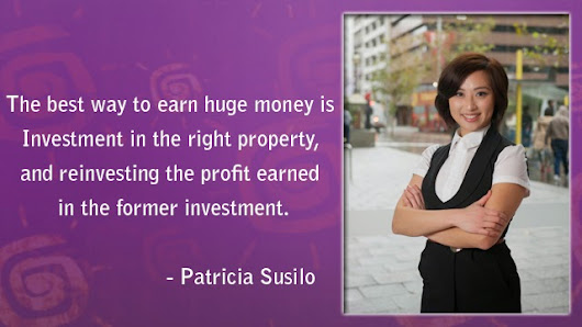 Patricia Susilo Go-to solutions for selling your property
