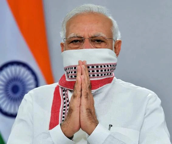 PM Modi Launchess Covid Warriors Website to Fight Coronavirus