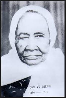 Biografi dan Foto Pejuang serta Pahlawan Wanita Indonesia Opu Daeng Risaju (Famajjah)