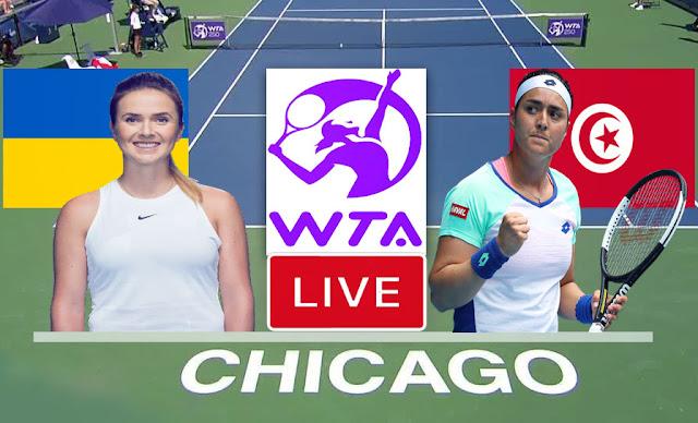 بث مباشر   مشاهدة مباراة أنس جابر ضد جيسيكا بيغولا في ربع نهائي بطولة شيكاغو