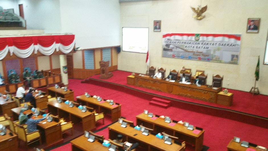 DPRD Batam, Masa Persidangan III Dimulai