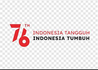 download logo hut ri 76 png - kanalmu