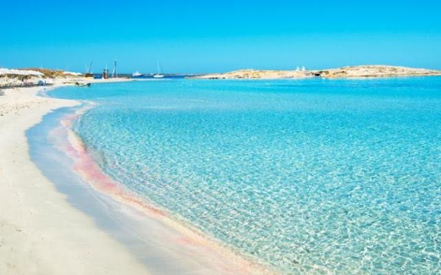 Formentera nas Ilhas Baleares