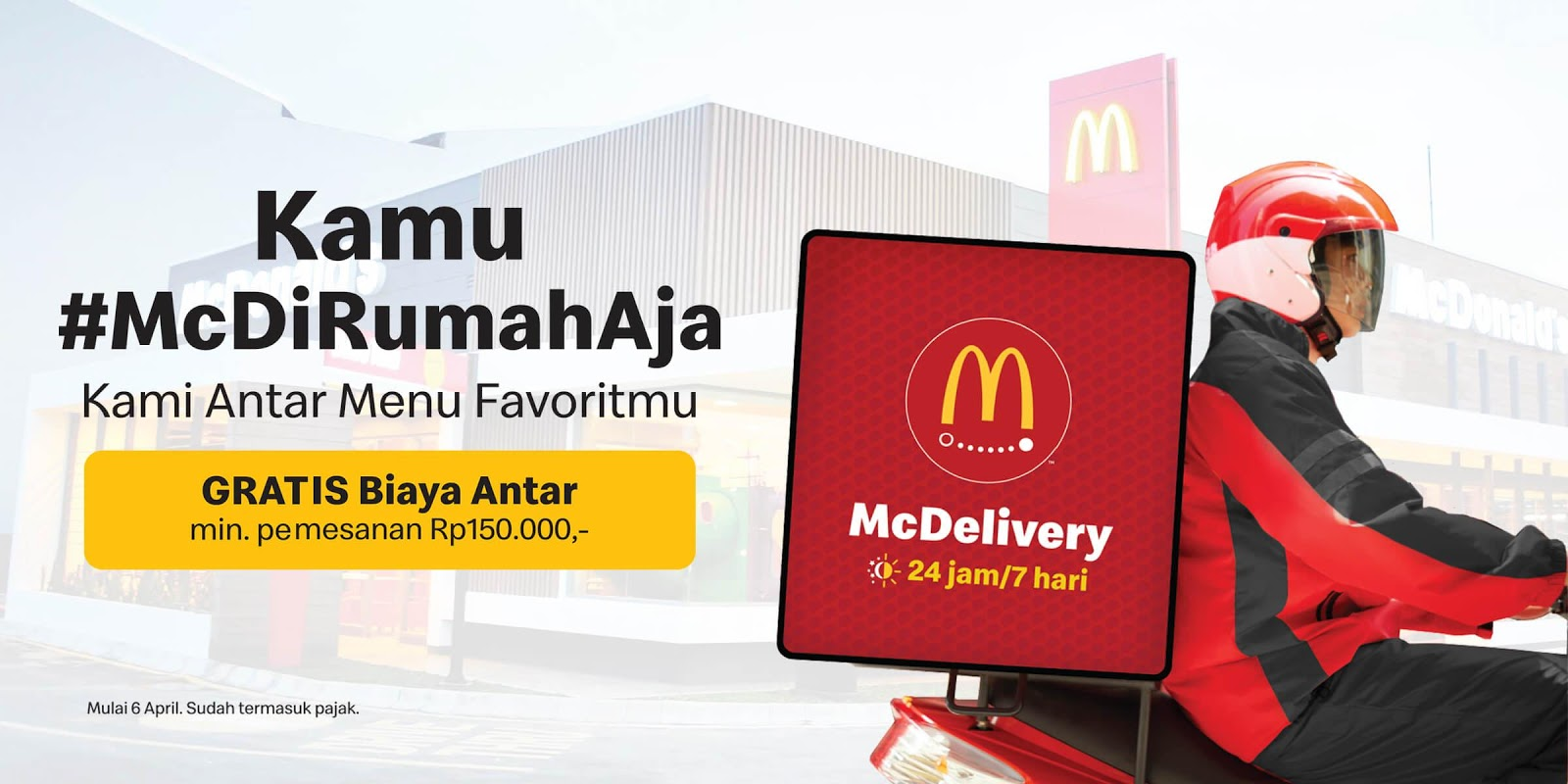 Promo McDonalds Delivery McDelivery Juni 2020