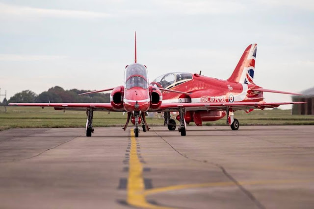 RAF Red Arrows training Greece