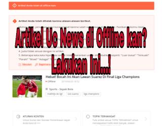 Artikel uc news di offline