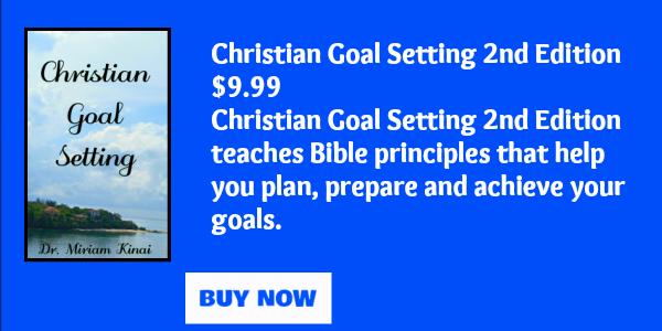 Christian goal setting