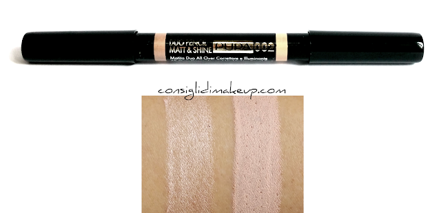 opinioni duo pencil matt shine pupa