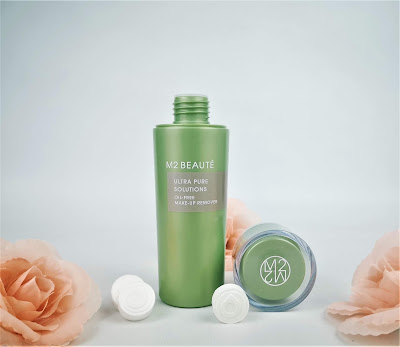 M2 BEAUTÉ ultra pure solutions, oil free make-up remover