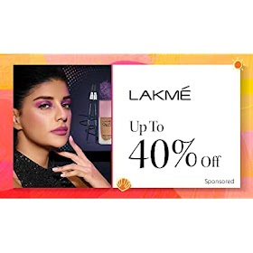 40% Off on Lakme Products