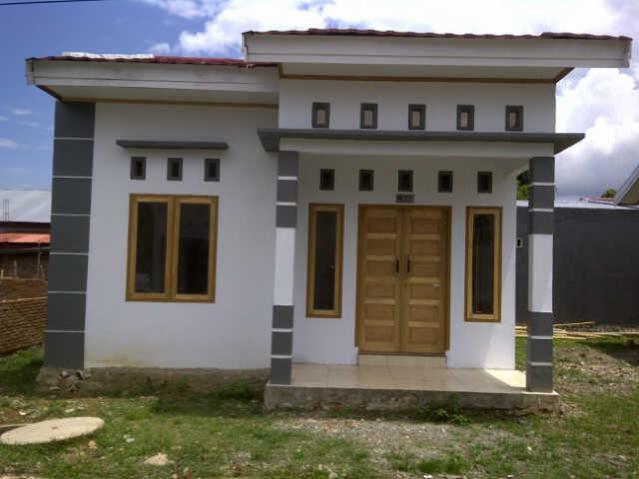 bentuk teras rumah type 36