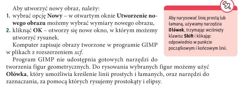 podręcznik gimp