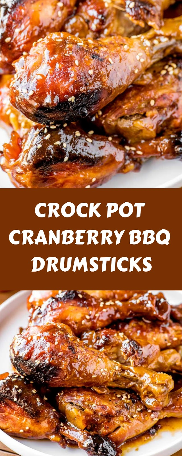 CROCK POT CRANBERRY BBQ DRUMSTICKS
